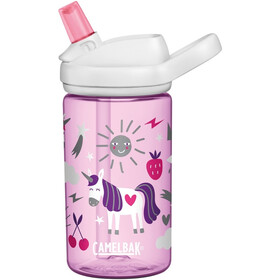 CamelBak Eddy+ Bidon 400ml Enfant, unicorn party